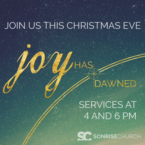 Join us for our Christmas Eve Service