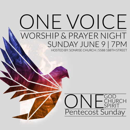 Join us for pentecost Sunday